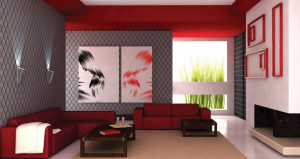 Color influence on interior decoration